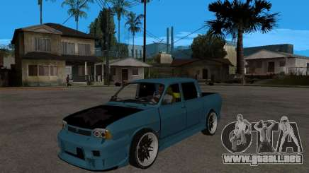 Dacia 1400 Pickup Battle Machine para GTA San Andreas