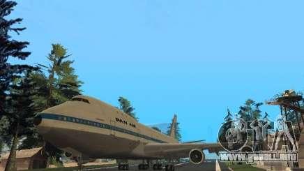 Boeing 747-100 Pan American Airways para GTA San Andreas