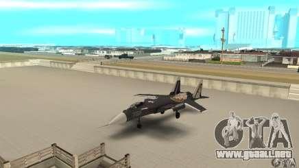 "Su-47 ""berkut"" Anime para GTA San Andreas"