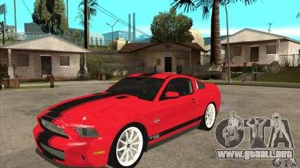 Ford Shelby GT500 Supersnake 2010 para GTA San Andreas
