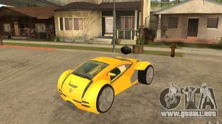 Lexus Concept 2045 para GTA San Andreas