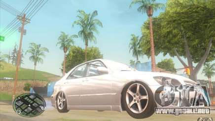 Lexus IS300 Light Tuning para GTA San Andreas
