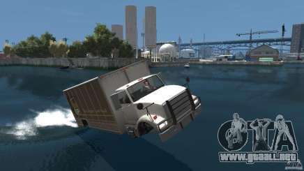 Benson boat para GTA 4