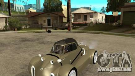 Messerschmitt GT500 Tiger Hard tuned para GTA San Andreas