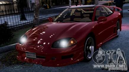 Dodge Stealth RT Turbo 1996 Borgoña para GTA 4