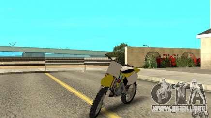 Suzuki RM250 para GTA San Andreas
