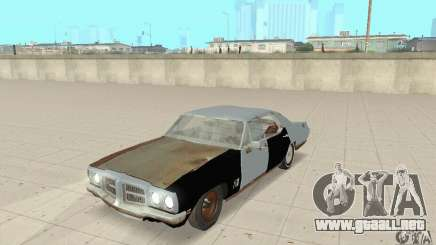 Pontiac LeMans 1970 Scrap Yard Edition para GTA San Andreas