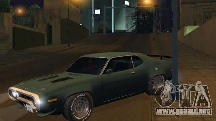 Plymouth Roadrunner para GTA San Andreas