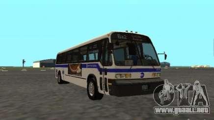 GMC RTS MTA New York City Bus para GTA San Andreas