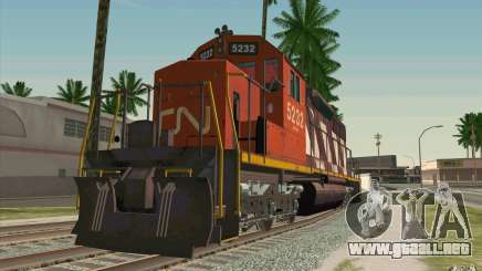 CN SD40 ZEBRA STRIPES para GTA San Andreas