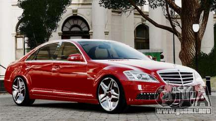 Mercedes-Benz S65 AMG 2010 Final para GTA 4