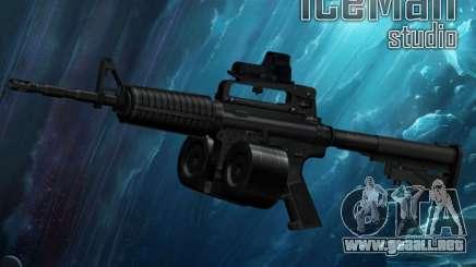 M4-A1 para GTA San Andreas