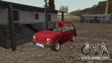 Fiat 126p Elegant para GTA San Andreas