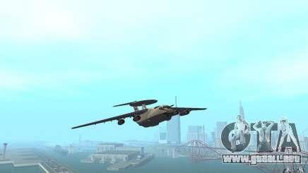 Berijew A-50 Mainstay para GTA San Andreas