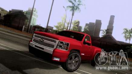 Chevrolet Cheyenne Single Cab para GTA San Andreas