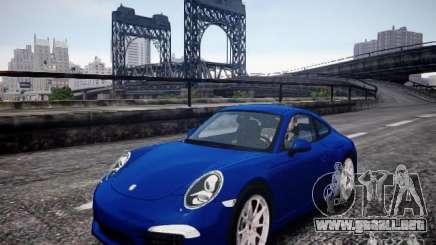 Porsche 911 Carrera S 2012 para GTA 4
