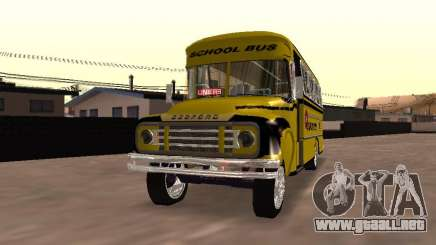 Bedford School Bus para GTA San Andreas
