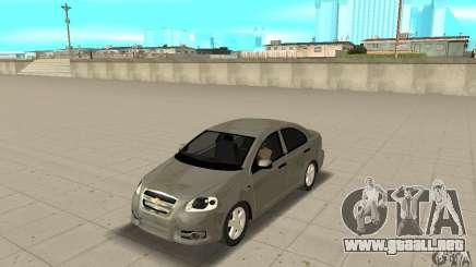 Chevrolet Aveo para GTA San Andreas