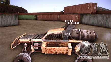 Post Apocalyptic Mayhem sandking para GTA San Andreas