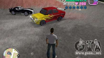 ZAZ: 968 m para GTA Vice City