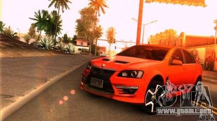 Holden HSV GTS para GTA San Andreas