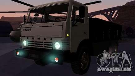 KAMAZ 53212 abierto para GTA San Andreas