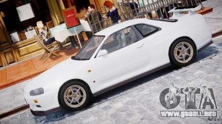 Nissan Skyline GT-R 34 V-Spec para GTA 4