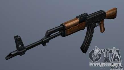 AKM - the more accurate version para GTA San Andreas