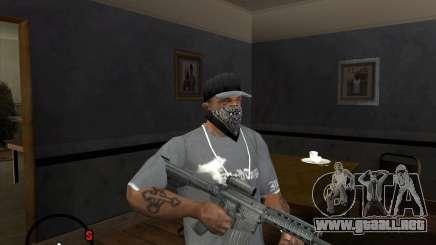 M4A1 SOPMOD para GTA San Andreas