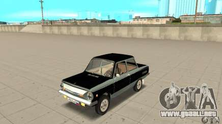 ZAZ 968 m ver 1.0 para GTA San Andreas