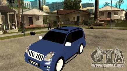 2009 toyota land cruiser prado para GTA San Andreas
