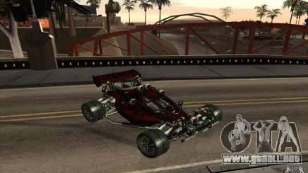 XCALIBUR CD 4.0 XS-XL RACE Edition para GTA San Andreas