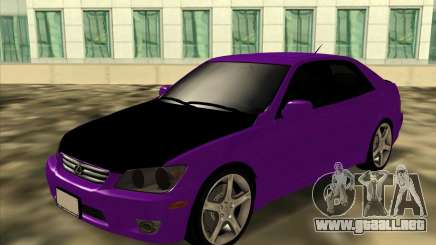 Lexus IS300 - Stock para GTA San Andreas