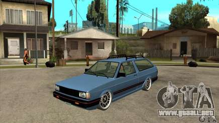 VW Fox 1989 v.2.0 para GTA San Andreas
