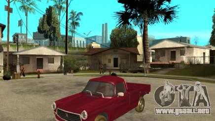 Peugeot 404 UXD para GTA San Andreas