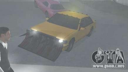 Zombie Taxi para GTA San Andreas