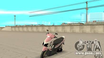 Honda Vario-Velg Racing para GTA San Andreas