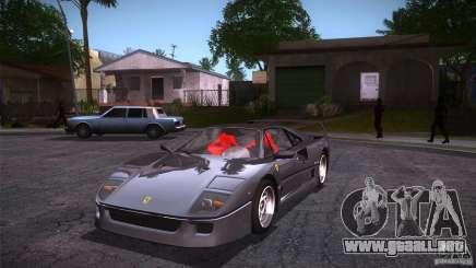 Ferrari F40 para GTA San Andreas
