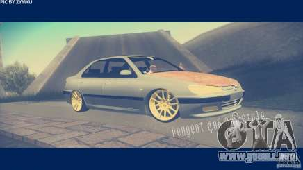 Peugeot 406 Rat Style para GTA San Andreas