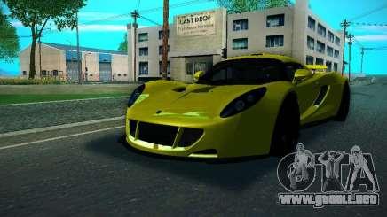 Hennessey Venom GT Spyder para GTA San Andreas