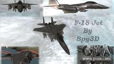 F-15 Eagle para GTA San Andreas