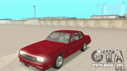 Chevrolet Monte Carlo SS 1986 para GTA San Andreas