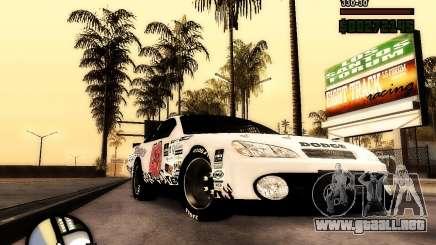 Dodge Nascar Beers Light 40 para GTA San Andreas
