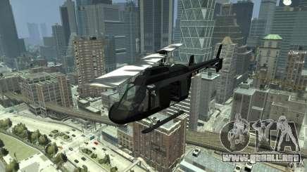 Black U.S. ARMY Helicopter v0.2 para GTA 4