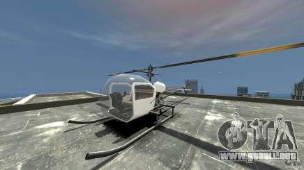 Sparrow para GTA 4