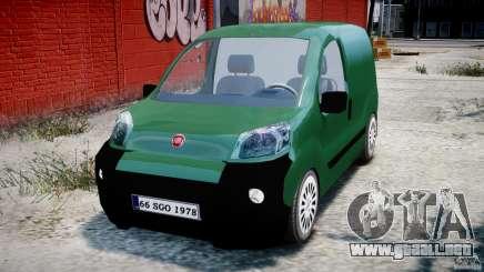 Fiat Fiorino 2008 Van para GTA 4