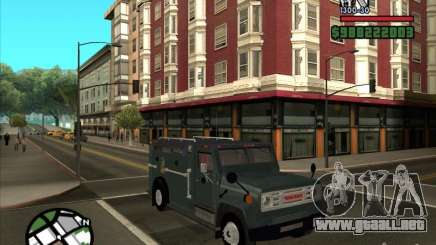 GMC 6000 Armored Truck 1985 para GTA San Andreas