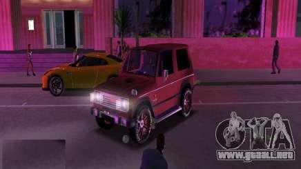 Mitsubishi Pajero para GTA Vice City