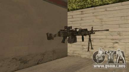 Ametralladora MK-48 para GTA San Andreas