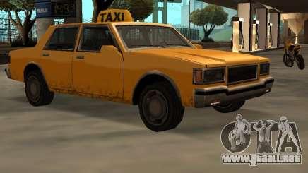 LV Taxi para GTA San Andreas